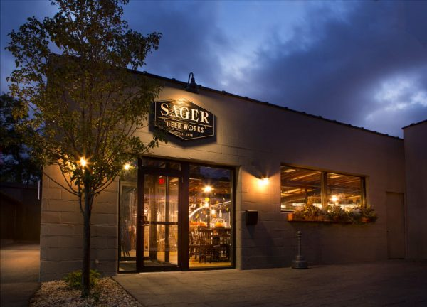 Sager Beer Works - Property at Night